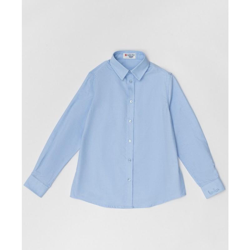 Голубая рубашка Button Blue
