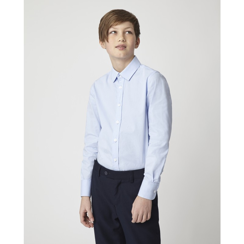 Голубая рубашка Gulliver (фото 2)