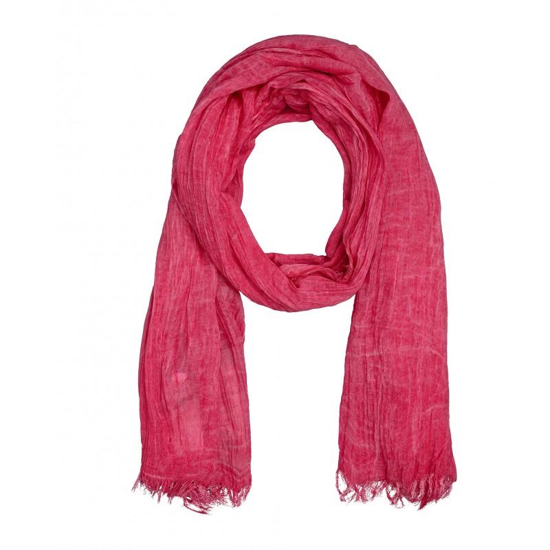 Розовый шарф Gulliver