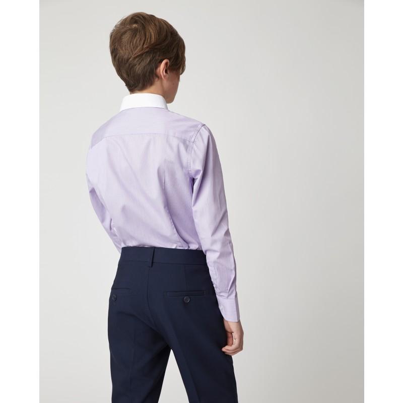 Сиреневая рубашка Gulliver (фото 3)