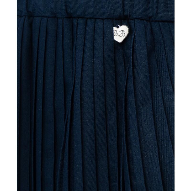 Синяя плиссированная юбка Button Blue (фото 5)