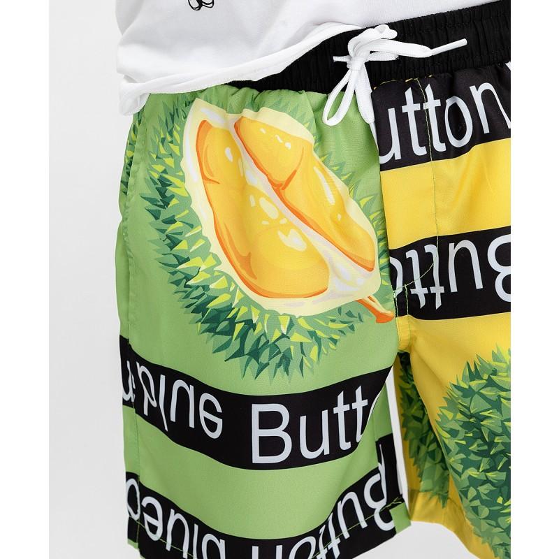 Плавательные шорты с принтом Button Blue (фото 5)