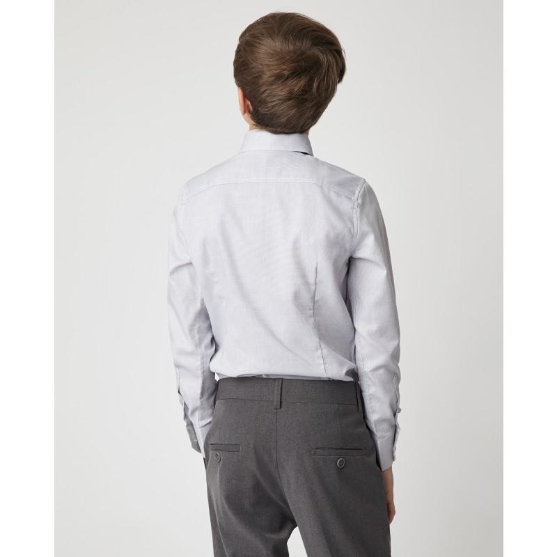 Серая рубашка Gulliver (фото 3)