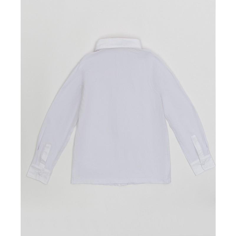Белая рубашка на кнопках Button Blue (фото 2)