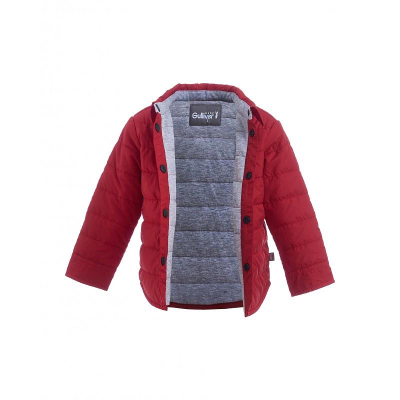 Красная демисезонная куртка Gulliver (фото 4)