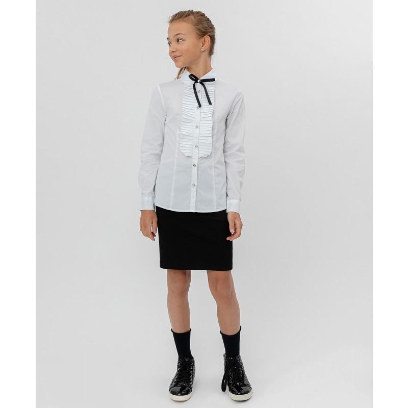 Белая рубашка с бантом Button Blue (фото 2)