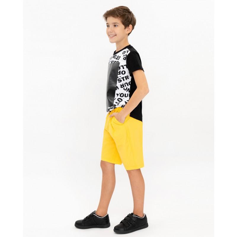 Желтые шорты Gulliver (фото 3)