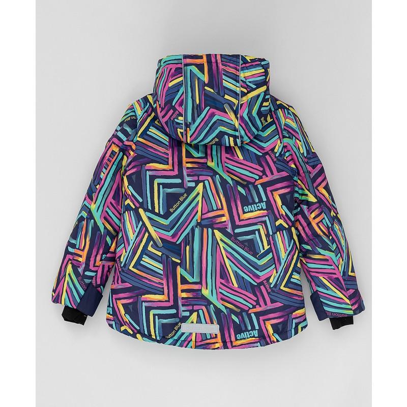 Зимняя куртка Active Button Blue (фото 4)