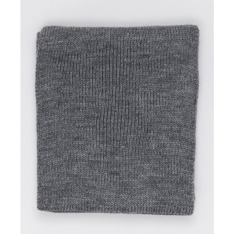 Серый вязаный воротник Button Blue (фото 2)