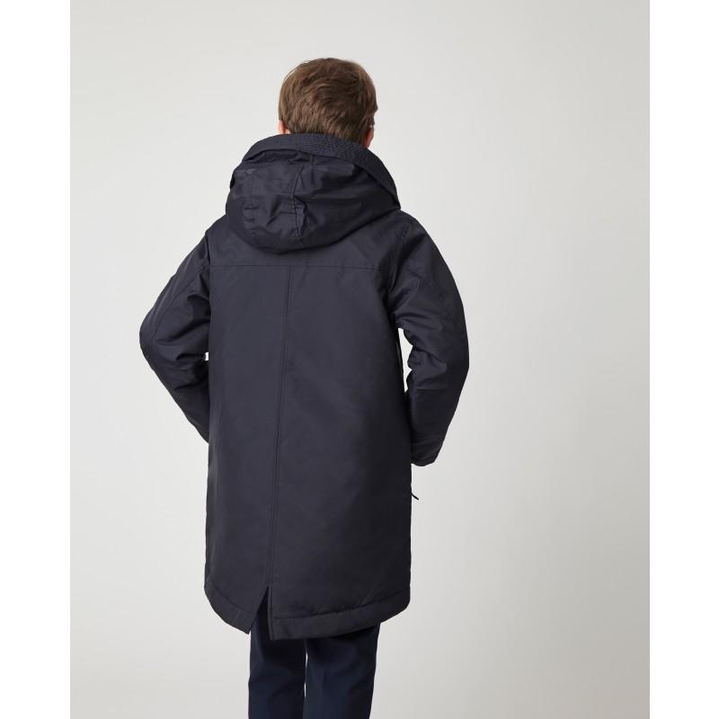 Синяя демисезонная куртка Gulliver (фото 3)