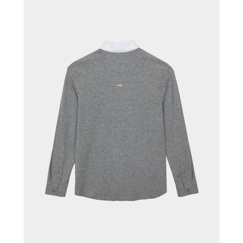 Серая рубашка Gulliver (фото 4)