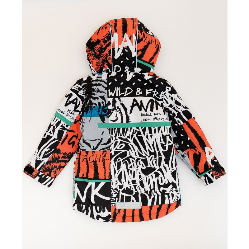 Демисезонная куртка Active для мальчика Button Blue (фото 2)