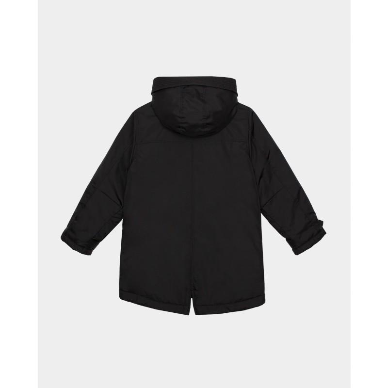 Черная демисезонная куртка Gulliver (фото 4)