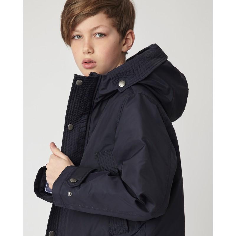 Синяя демисезонная куртка Gulliver