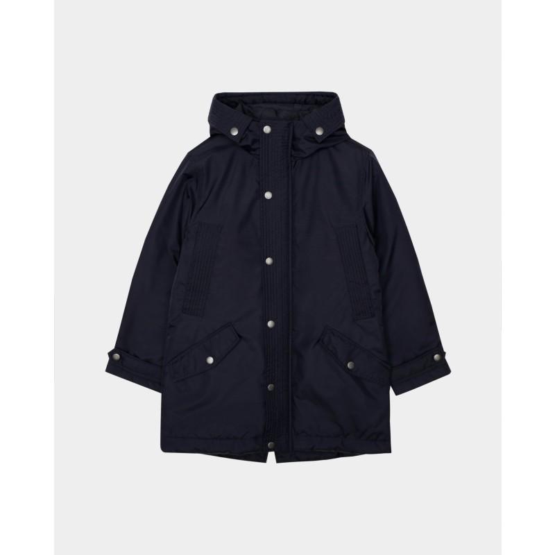 Синяя демисезонная куртка Gulliver (фото 5)