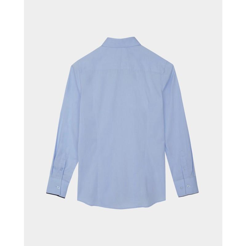 Голубая рубашка Gulliver (фото 4)