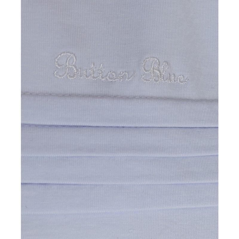 Белая водолазка с вышивкой Button Blue (фото 3)