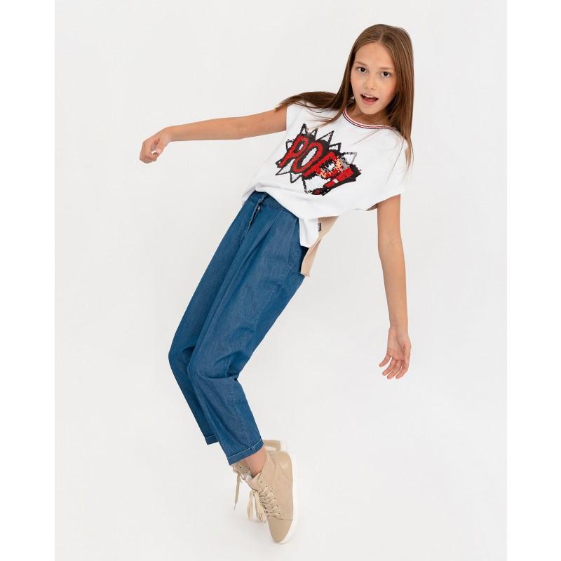 Брюки из джинсовой ткани Gulliver (фото 2)