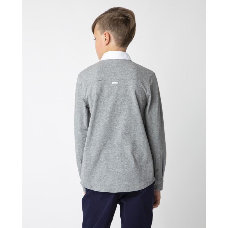 Серая рубашка Gulliver (фото 2)