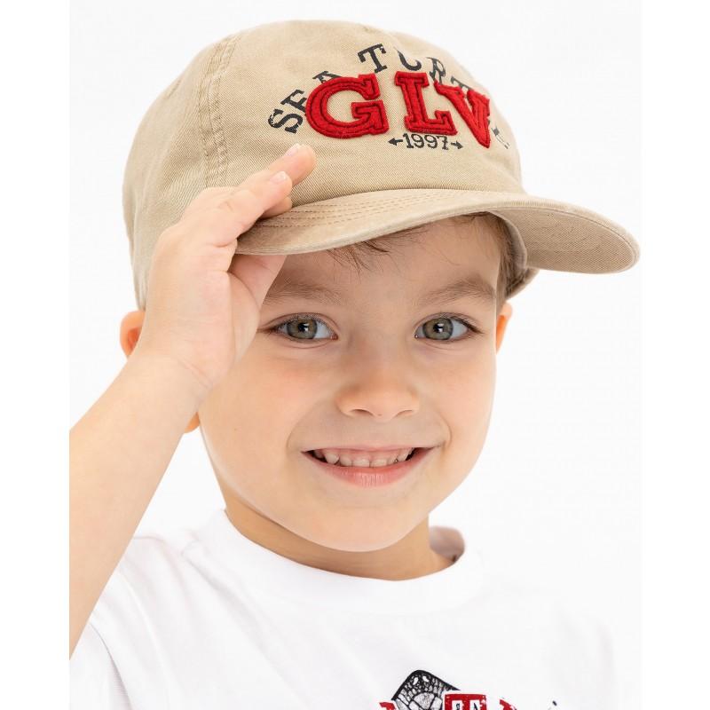 Бежевая бейсболка Gulliver (фото 2)