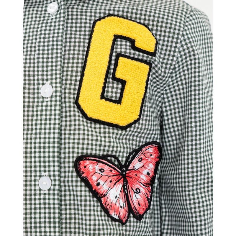 Рубашка в клетку Gulliver (фото 5)