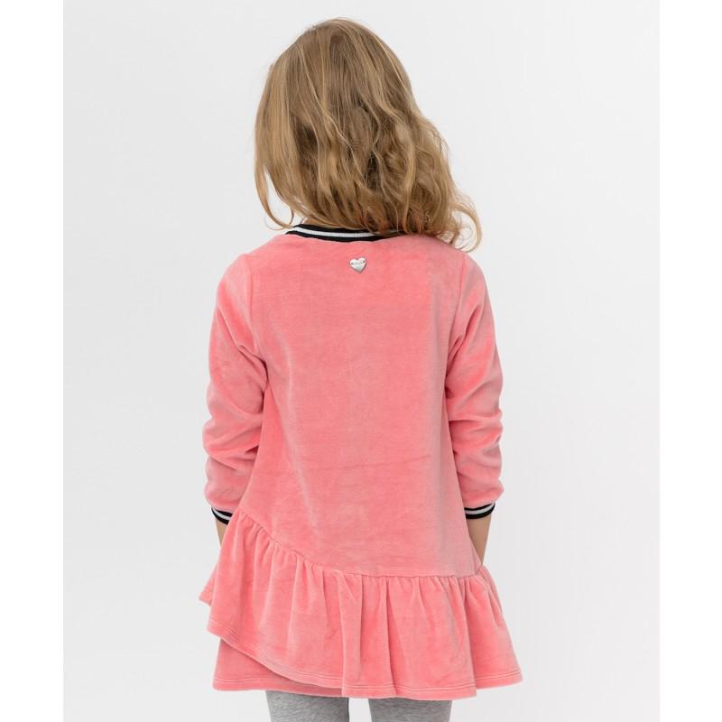 Розовое платье с пайетками Button Blue (фото 2)