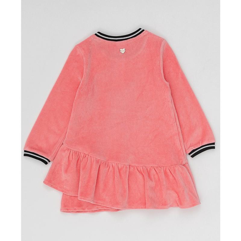Розовое платье с пайетками Button Blue (фото 5)
