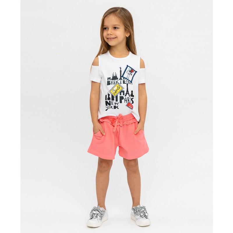 Розовые шорты Button Blue