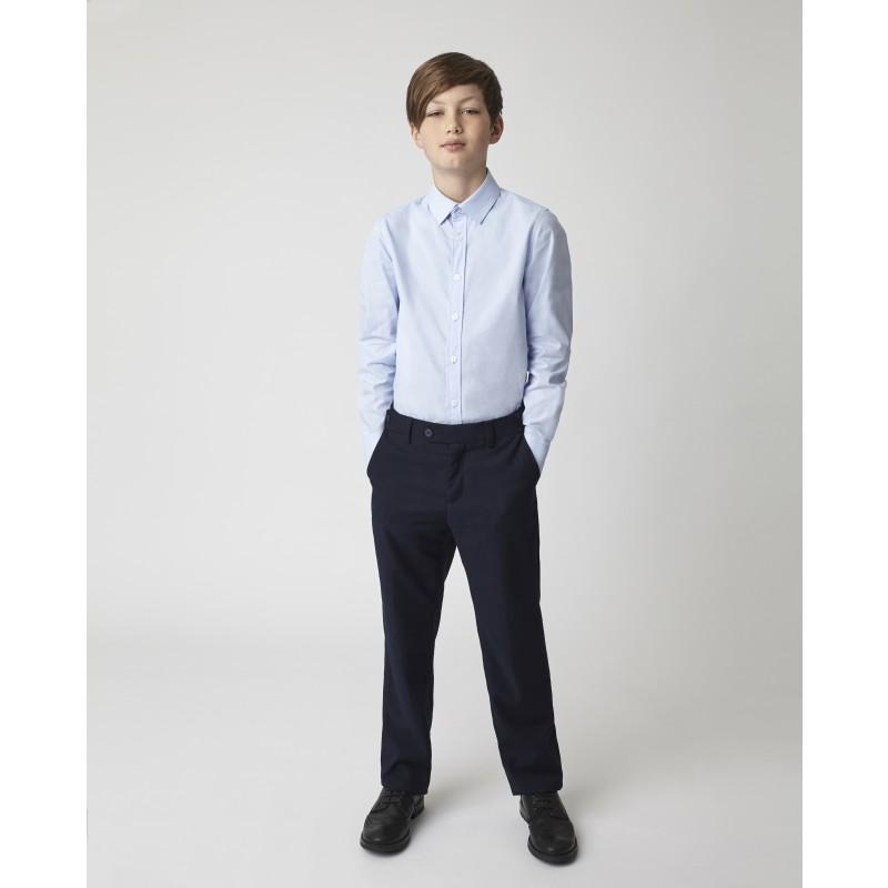 Голубая рубашка Gulliver
