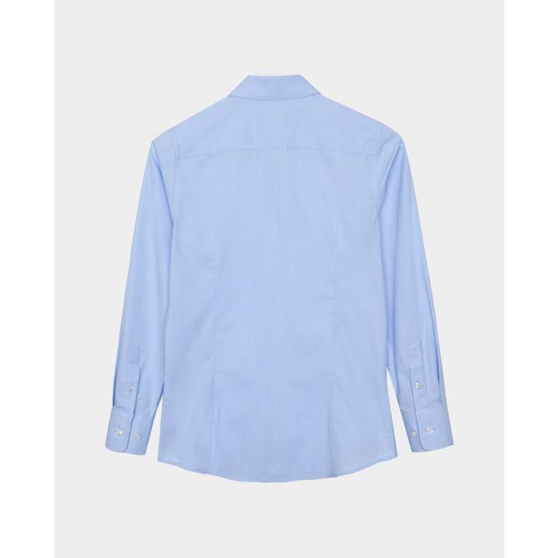 Голубая рубашка Gulliver (фото 5)