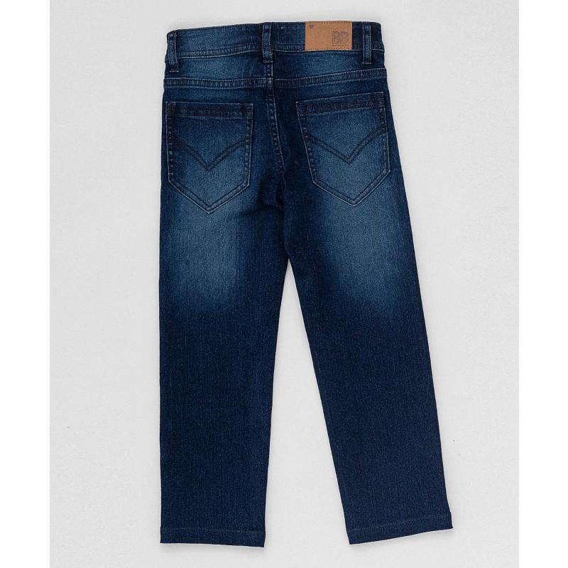 Синие прямые джинсы Button Blue (фото 2)