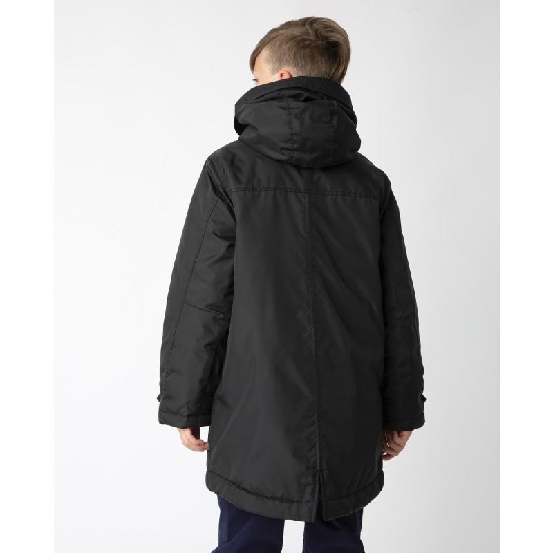 Черная демисезонная куртка Gulliver (фото 2)