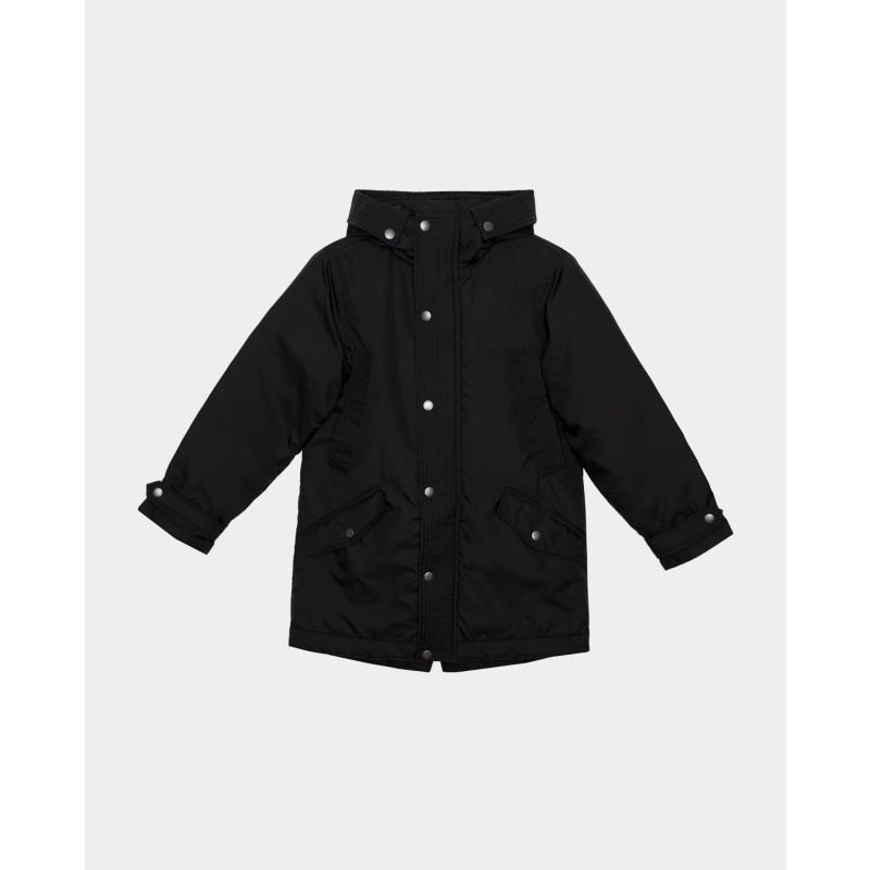 Черная демисезонная куртка Gulliver (фото 3)
