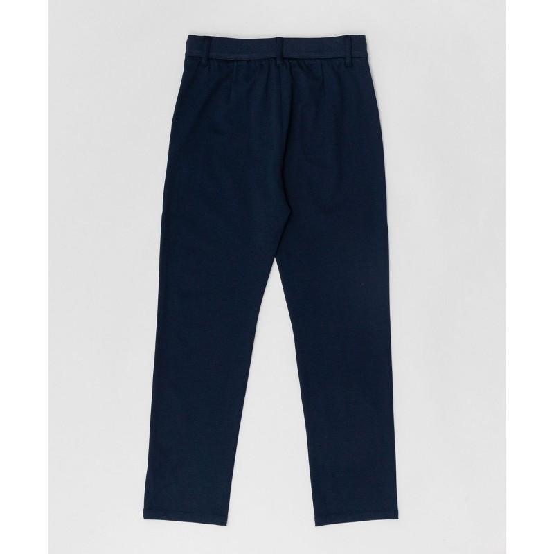 Синие брюки на шнурке Button Blue (фото 2)