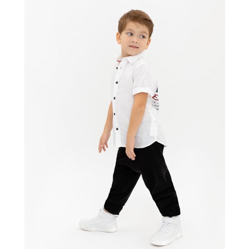 Белая рубашка с коротким рукавом Gulliver (фото 3)
