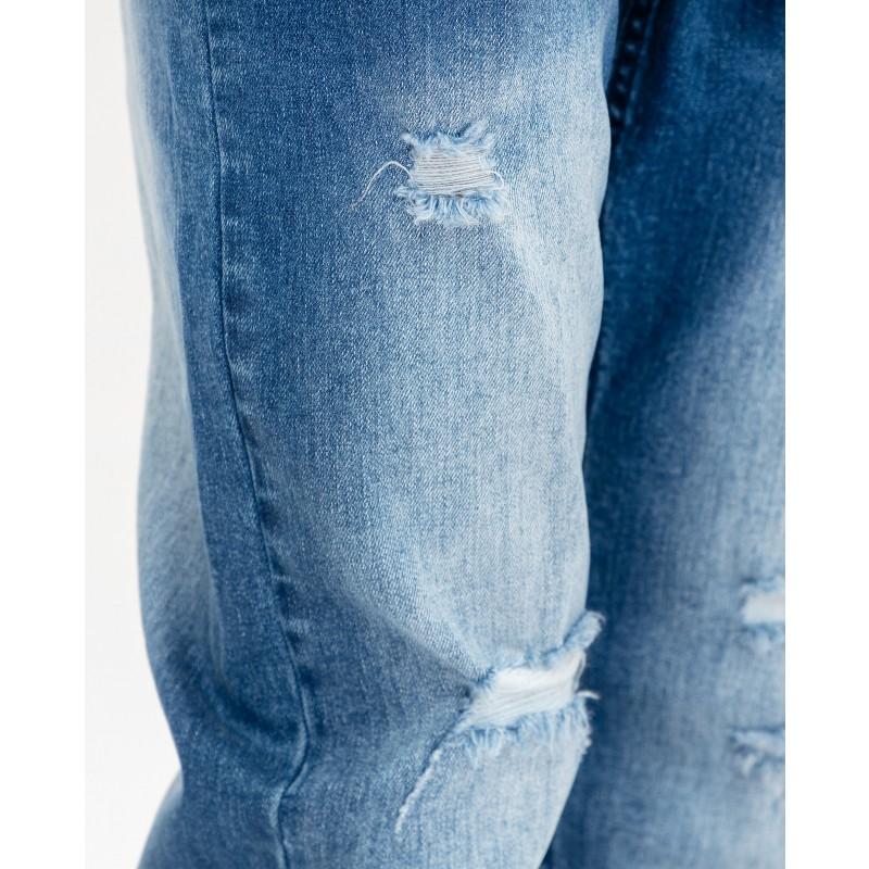 Голубые джинсы Gulliver (фото 4)