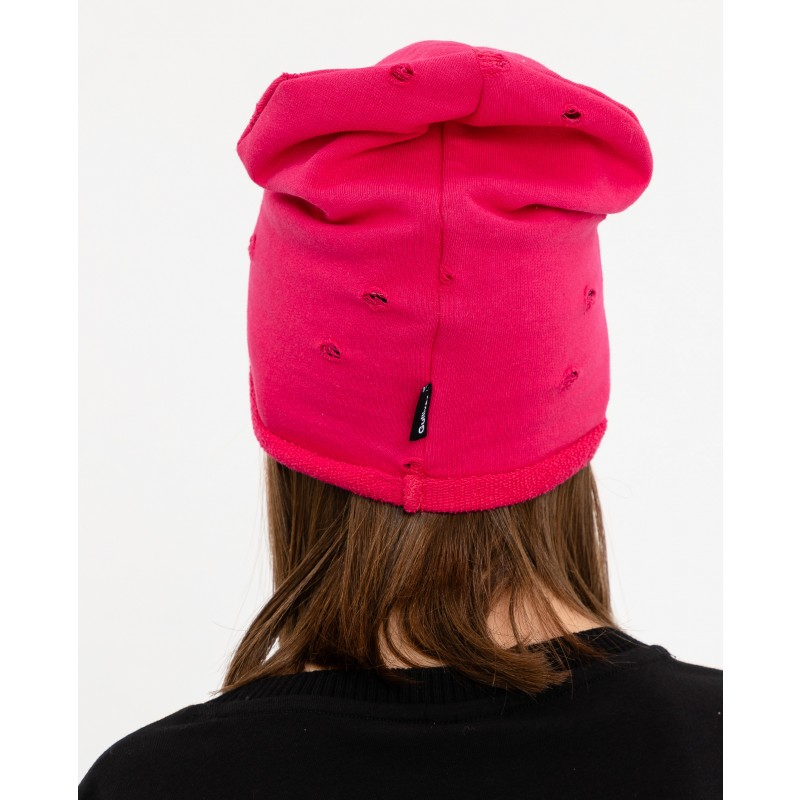 Розовая трикотажная шапка Gulliver (фото 2)