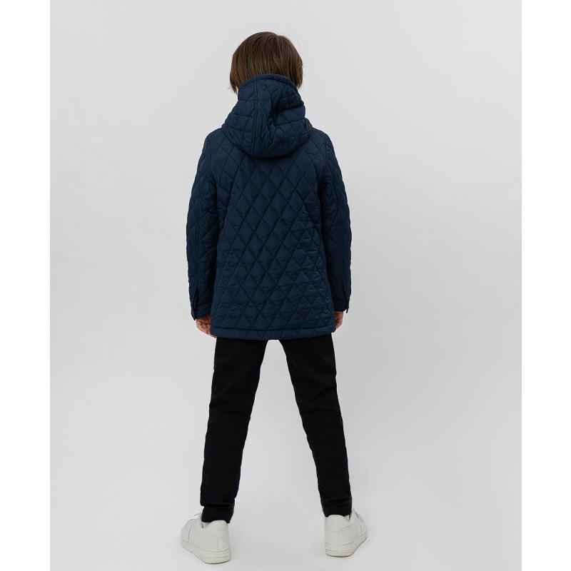 Синяя куртка Button Blue (фото 4)