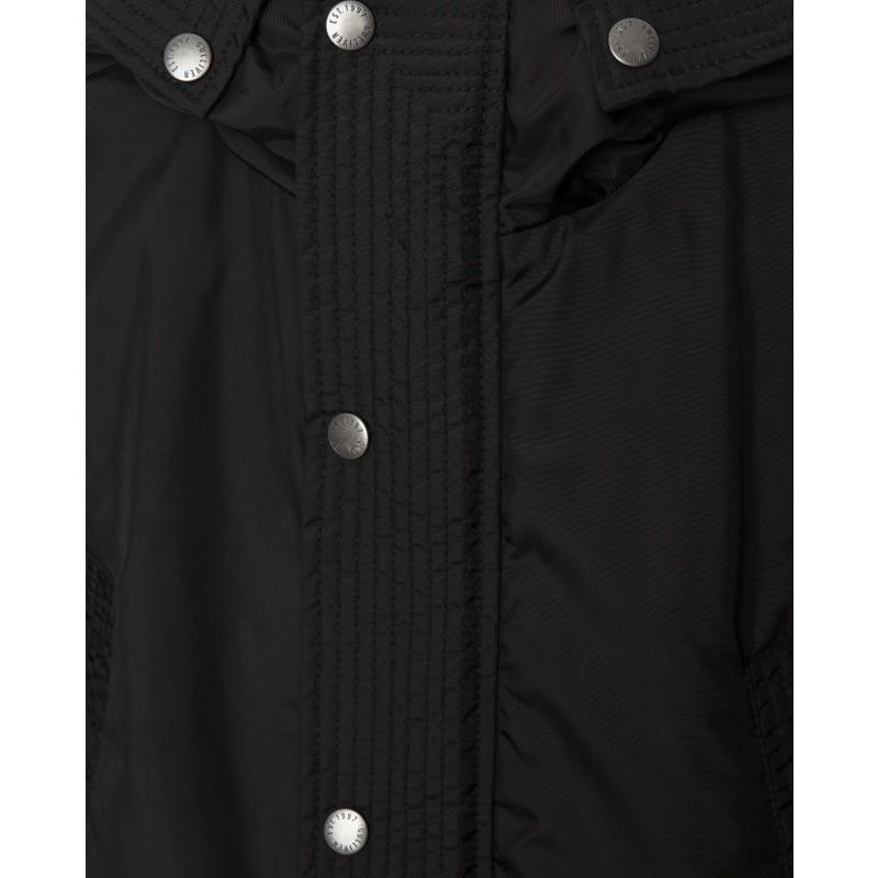 Черная демисезонная куртка Gulliver (фото 5)