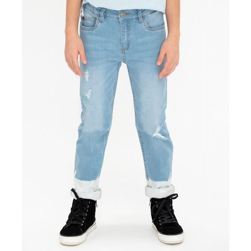 Джинсы Slim fit Button Blue (фото 2)