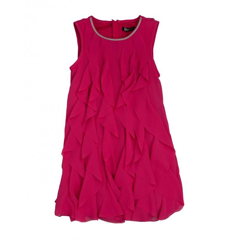 Розовое нарядное платье Gulliver