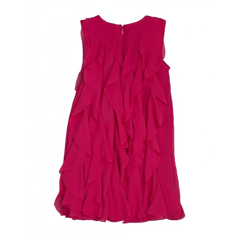 Розовое нарядное платье Gulliver (фото 2)