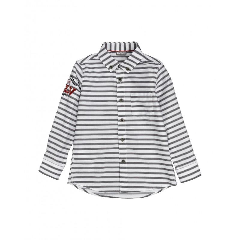 Рубашка в полоску Gulliver