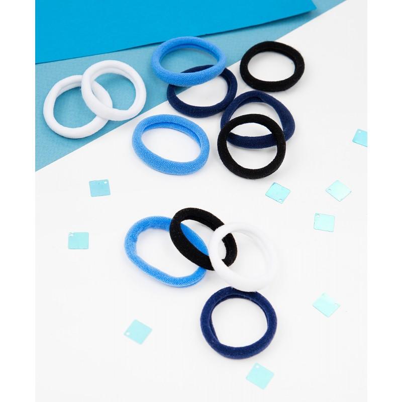 Комплект резинок для волос, 12 шт. Button Blue (фото 2)