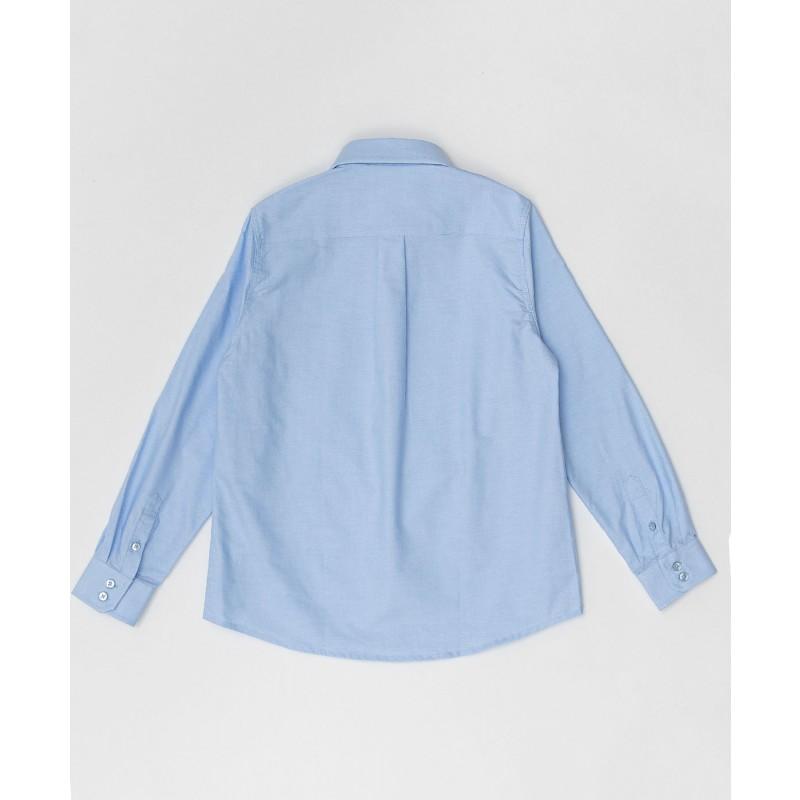 Голубая рубашка Button Blue (фото 2)