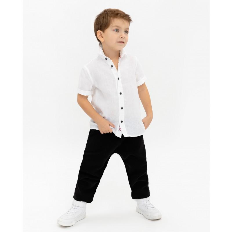 Белая рубашка с коротким рукавом Gulliver