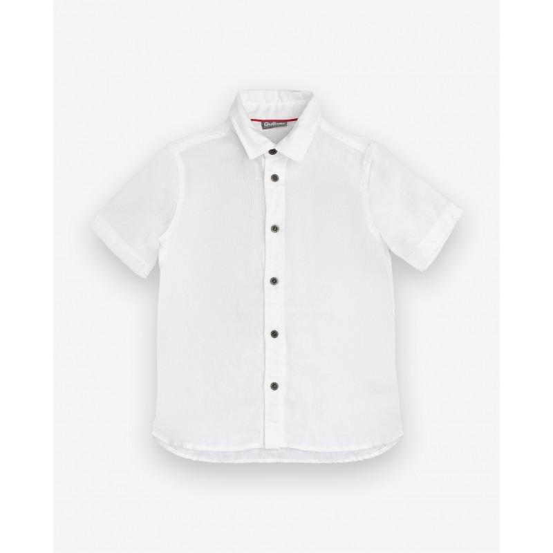 Белая рубашка с коротким рукавом Gulliver (фото 5)