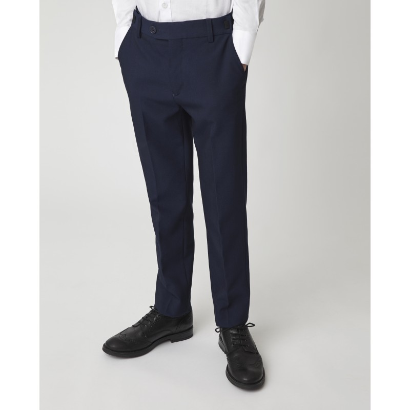 Синие узкие брюки Gulliver (фото 3)