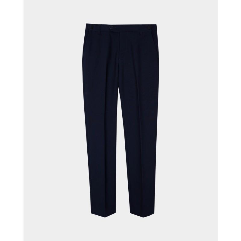 Синие узкие брюки Gulliver (фото 4)