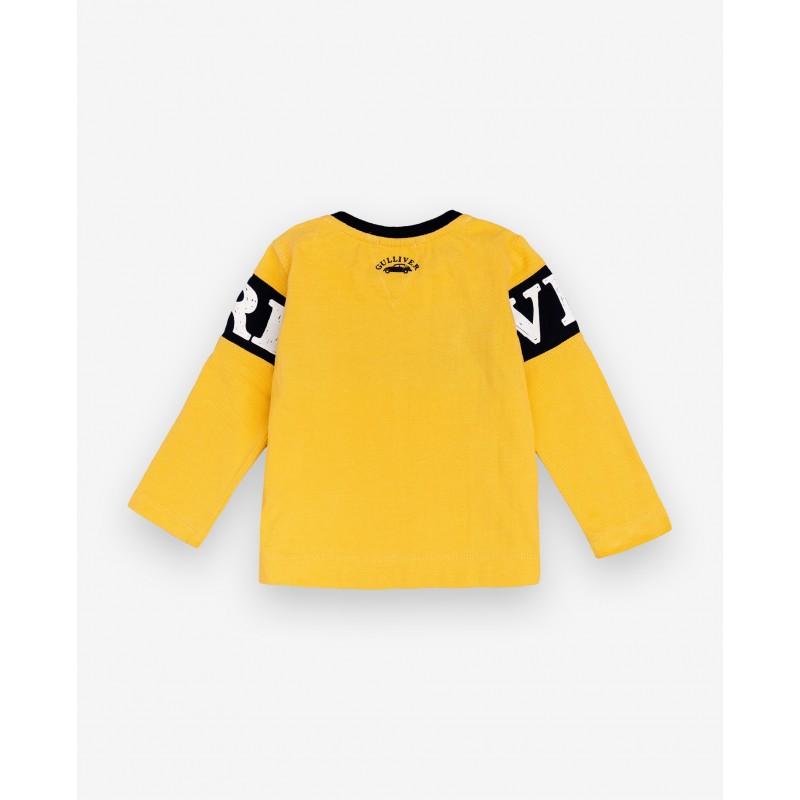 Желтая футболка с принтом Gulliver (фото 2)